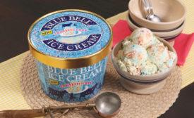 Blue Bell confetti cake