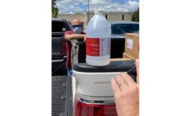 Califormulations hand sanitizer Symrise NA