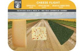 Cello cheese flight schuman cheese