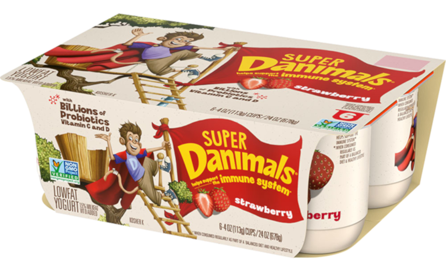 Super Danimals yogurt for immunity