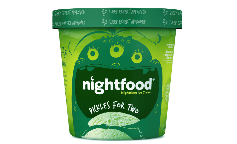 Nightfood pickle ice cream