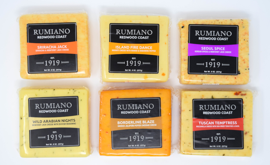 Rumiano Cheese Company Redwood Coast line