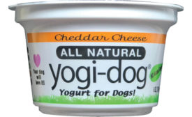 Yogi-Dog dog yogurt
