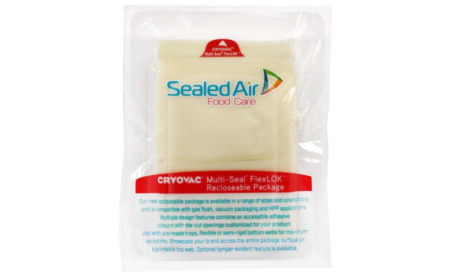 Sealed Air WhiteCheese-FlexLOK2