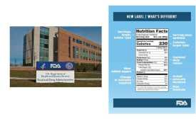 FDA HQ and Nutrition Facts panel