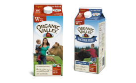 Organic Valley milk cartons show dairy farmers