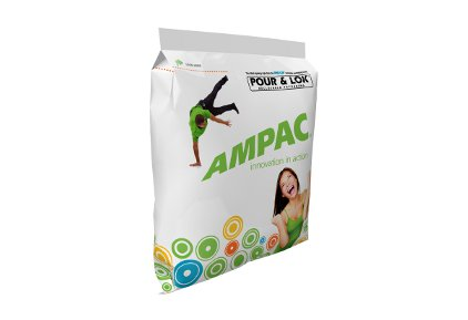 Ampac Pour & Loc packaging - feature