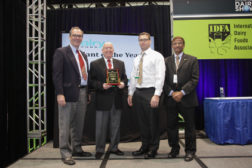 Bel Brands USA Plant of the Year award presentation at the International Dairy Show