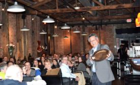 Cal Poly Professor Phil Tong at his retirement dinner