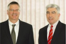 Oakhurst Dairy said that John H. Bennett and Thomas A. Brigham will be named co-presidents