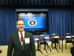 Jim Carper Dairy Foods magazine U.S. Dairy Sustainability  Council meeting in the White House