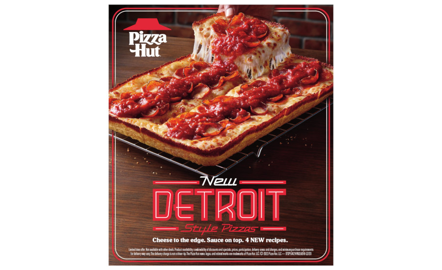 DMI and Pizza Hut Detroit-style pizza