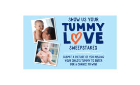 Stonyfield Show us Your Tummy Love sweeps