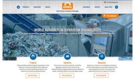Eriez new website