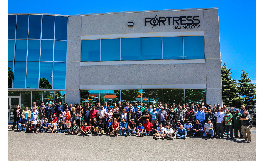 Fortress Technology team members in Toronto location
