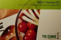 TIC Gums introduced a new brochure on its FASTir Xanthan EC product line.