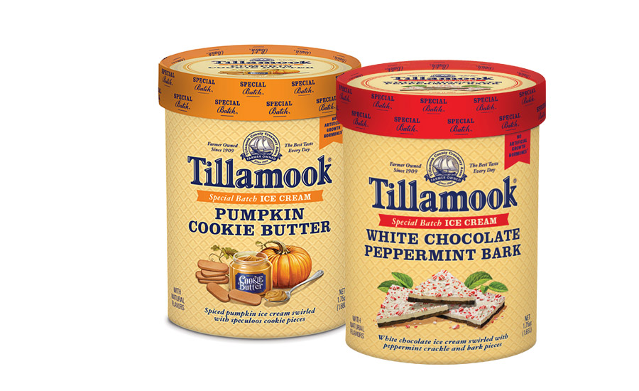 Tillamook fall holiday ice creams