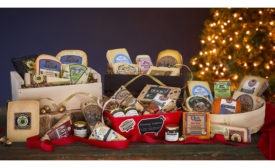 Wisconsin cheese baskets