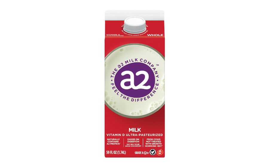 a2 Milk new packaging