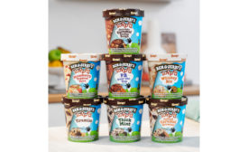 Ben & Jerrys Topped ice cream pints