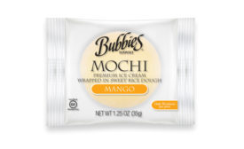 Bubbies mochi ice cream new packaging