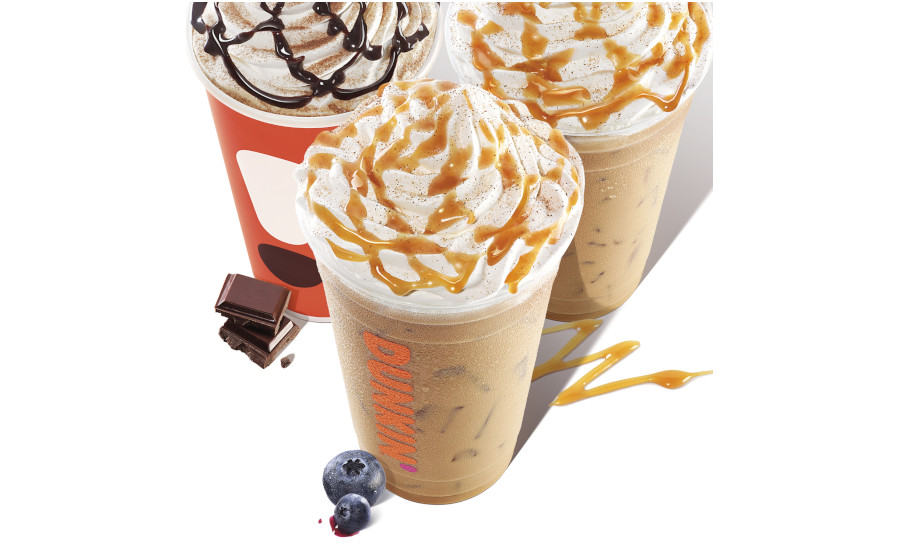 Dunkin' new latte flavors