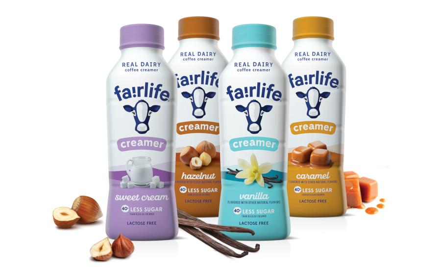 Fairlife coffee creamers