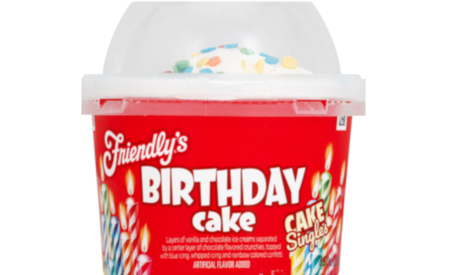 Friendlys Cake Singles