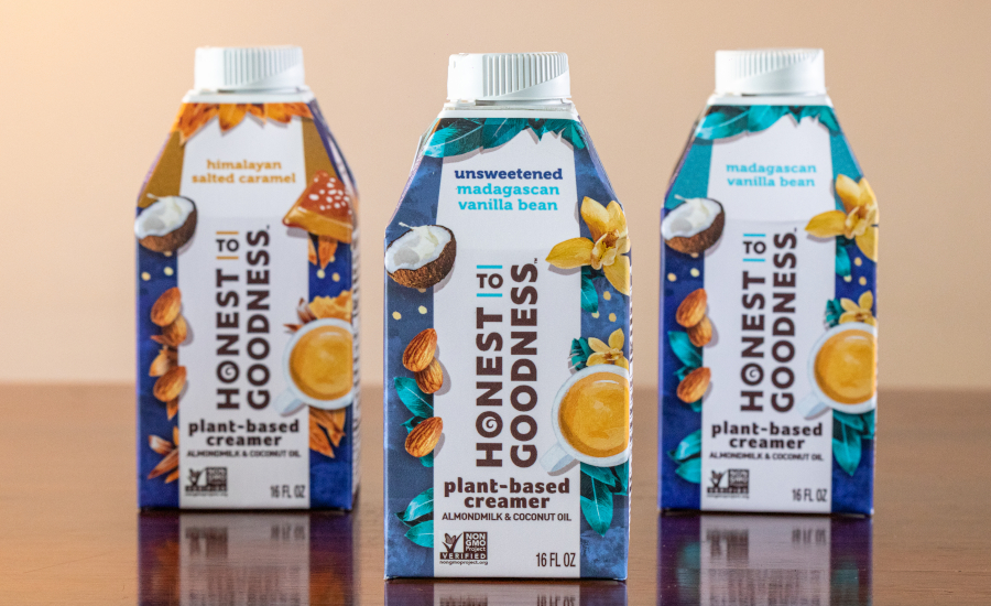 Honest to Goodness plant-based creamer
