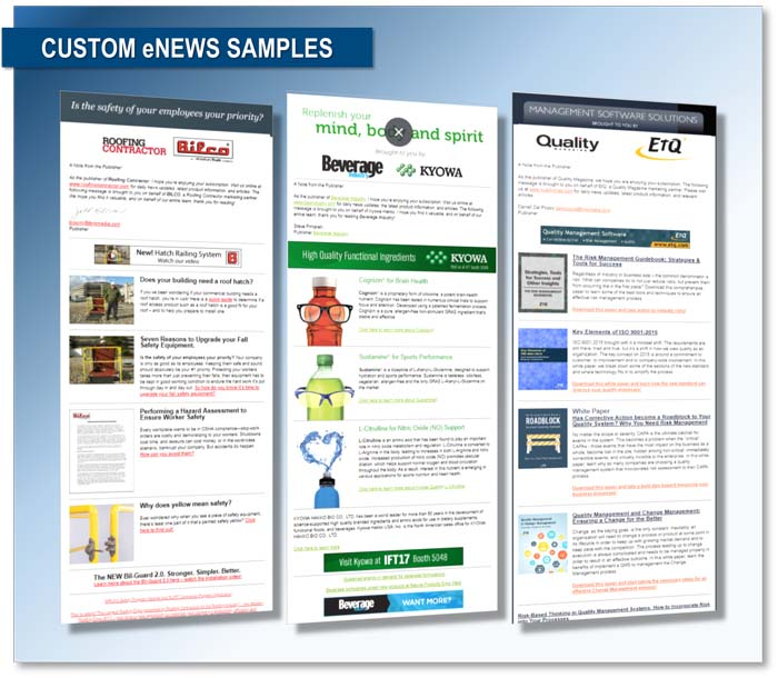 Custom eNews