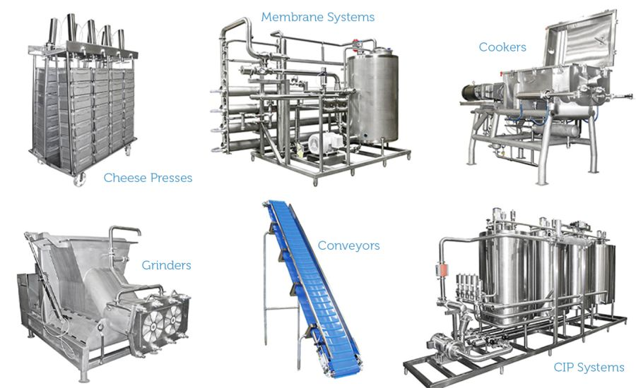Custom Stainless Steel Processing Equipment