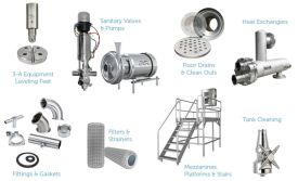 Products and Components for Food Manufacturing