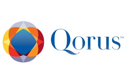 Qorus logo feature