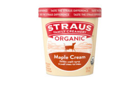 Straus Family Creamery Maple Cream